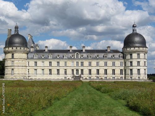 Papiers peints Chateau Indre - Château de Valençay et sa façade du XVIIe siècle