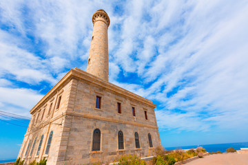 Cabo de Palos lighthouse near Mar Menor Spain