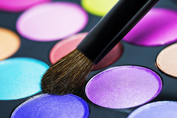 Makeup brush macro