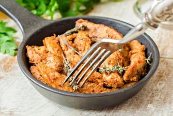 Куриное филе с тимьяном