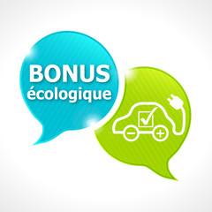 voiture bulles bonus écologique 2015