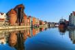 Leinwandbild Motiv Cityscape of Gdansk in Poland