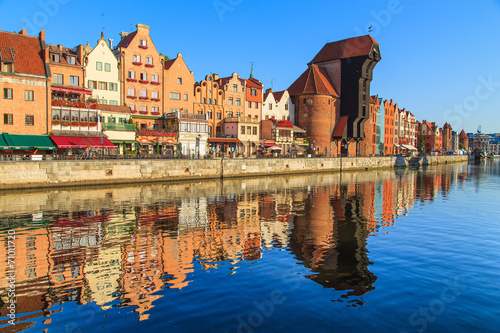 Cityscape of Gdansk in Poland - 71011720