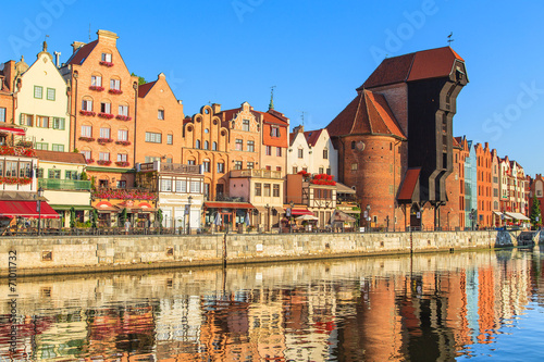 Cityscape of Gdansk in Poland © Marcin Krzyzak
