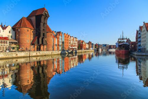 Zdjęcia na płótnie, fototapety, obrazy : Cityscape of Gdansk in Poland