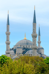 Blue Mosque in Istanbul. Turkey