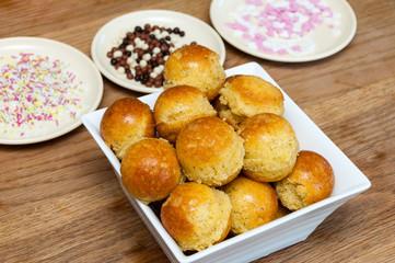 Baking pop cakes