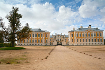 Rundale palace built in 1730 , Latvia.