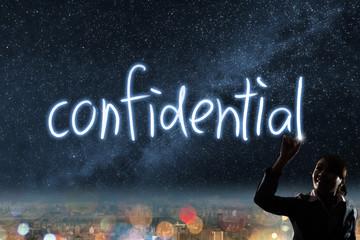 Concept of confidential