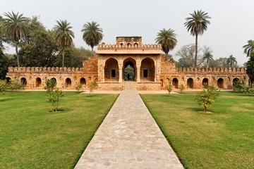 Vieille muraille de Delhi