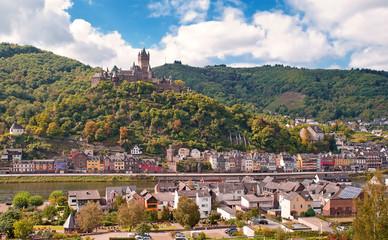 Cochem an der Mosel mit Reichsburg