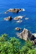 笠沙町片浦の海岸風景