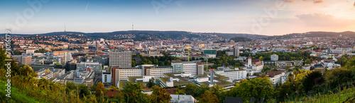 Staande foto Centraal Europa Panorama Stuttgart