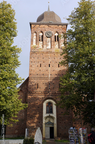 canvas print picture Kirche Sankt Jacobi