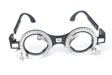 trial frame - eye glasses equipment