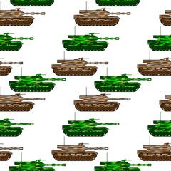 Panzer seamless pattern
