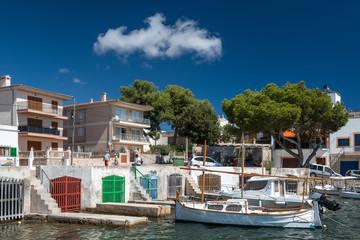 XXX - Bootshäuser mit Booten in Portocolom - 3685