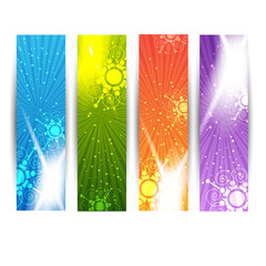 abstract web banners for advertisement/christmas