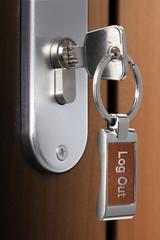 Log Out key