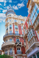 Cartagena Gran Hotel Art Noveau in Murcia Spain
