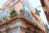 Cartagena modernist buildings in Murcia Spain poster