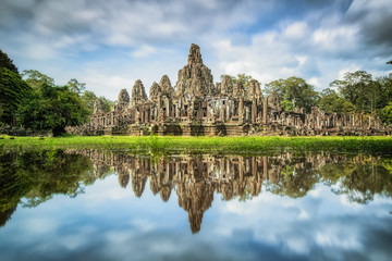 Angkor Wat with reflextion
