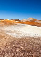 alien landscape The Breakaways Coober Pedy Australia