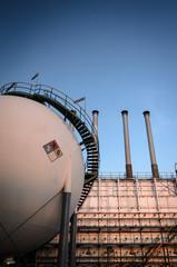 sphere storage gas