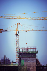 crane construction industry background