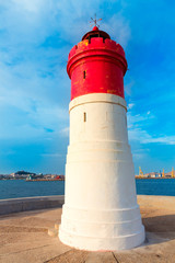 Beacon Cartagena lighthouse in Spain