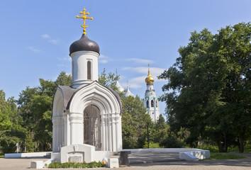 Вологда. Часовня Владимирской иконы Божией матери
