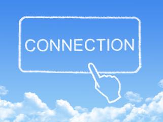 Connection message cloud shape