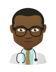 Male doctor avatar