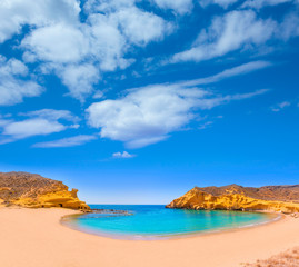 Cocedores beach in Murcia near Aguilas Spain