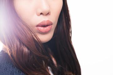Beautiful full lips