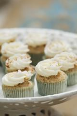 cinnamon spice cupcake