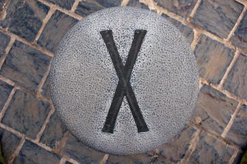 El número X