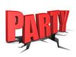 Obrazy na płótnie, fototapety, zdjęcia, fotoobrazy drukowane : party sign