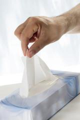 Rhume symbole - Mouchoir en papier