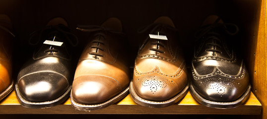 Luxury Italian shoes