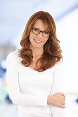 Middle age businesswoman portrait