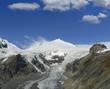 Glacier Pasterzen, Grossglockner masiv mountain, Hohe Tauern
