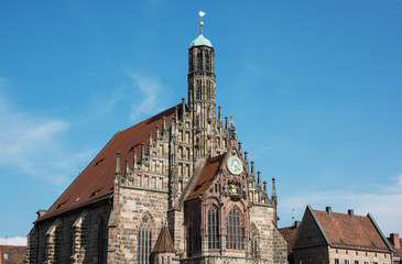 The Frauenkirche (Church of Our Lady) in Nuremberg, Germany