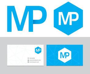MP initials logo