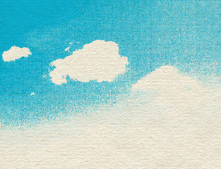 Clouds and sky background.