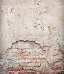 Brick,concrete weathered grunge wall background