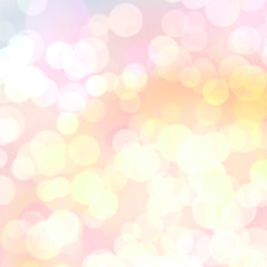 Light blurred summer background