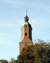 Tower of the Church from the 17th century in Eenrum