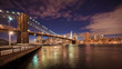 Obrazy na płótnie, fototapety, zdjęcia, fotoobrazy drukowane : Brooklyn Bridge NYC