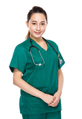 Doctor woman portrait